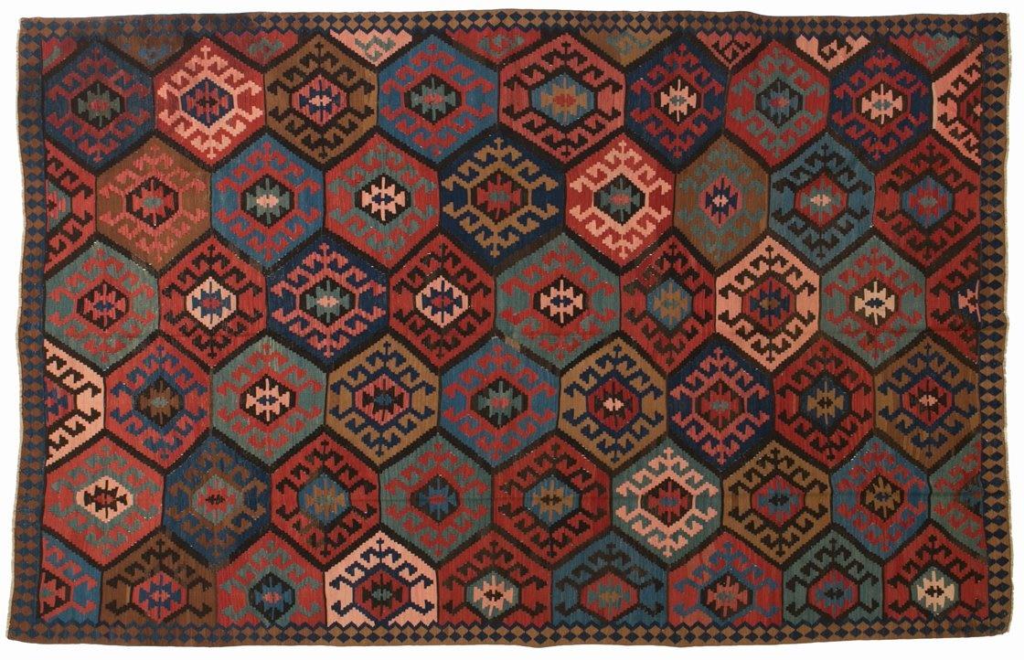 Tappeti Kilim Antichi : Kilim shirwan caucasico antico