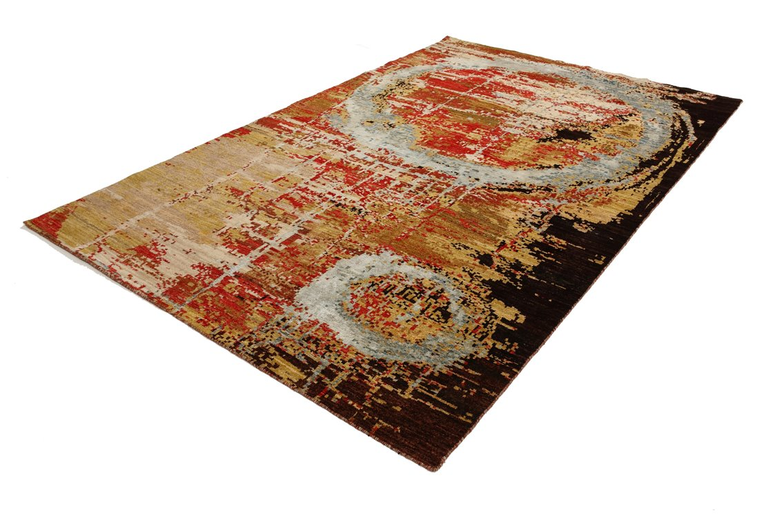 Gabbeh Mirage tappeto moderno